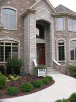Brick And Cultured Stone Exterior